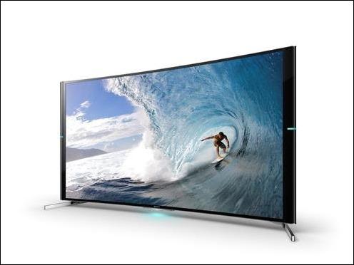 Sony presenta su primera TV 4K curvo, el Bravia S90