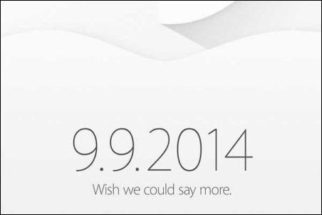 Ya es oficial: la presentación del nuevo iPhone 6, el 9 de septiembre