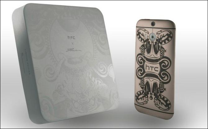 HTC lanza edición tatuada y limitada del One M8