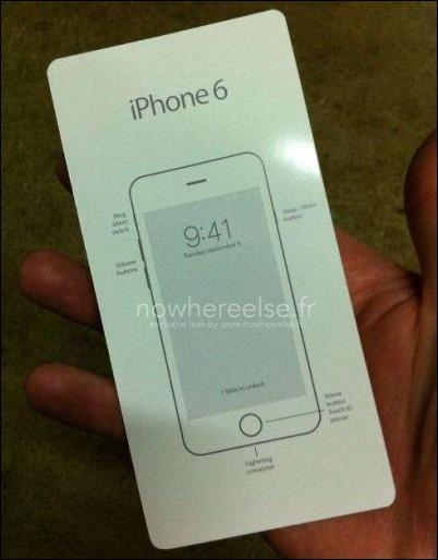 Se filtra manual del iPhone 6 ¡y fecha de lanzamiento!