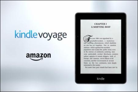 """Kindle Voyage, el nuevo eReader """"Premium"""" de Amazon"""