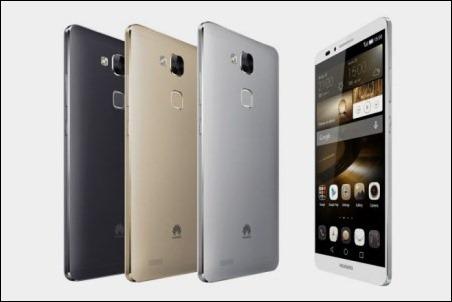#IFA2014: Huawei Ascend Mate 7, potencia, gran batería y lector de huellas dactilares