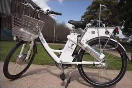 Hy-Cycle, la bicicleta con batería de Hidrogeno con 130 Km de autonomía.