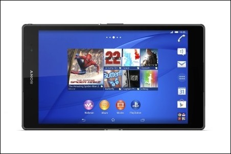 Xperia Z3 Tablet Compact_Negra