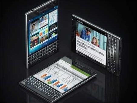 Blackberry presenta Passport, su móvil estrella para las navidades