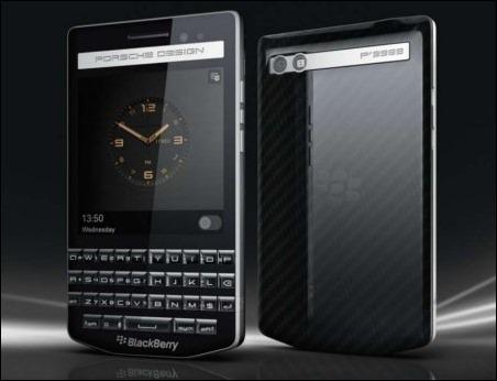 BlackBerry lanza un teléfono de lujo