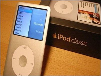 Venden iPod Clásico por 90.000 dólares
