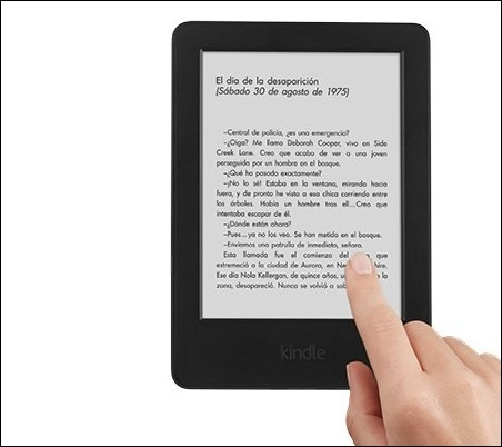 Amazon presenta el nuevo Kindle, ahora táctil por 70€