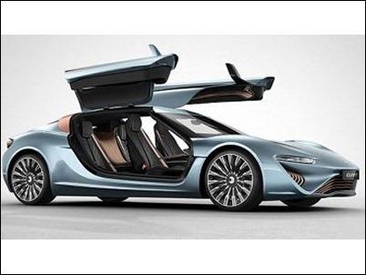 Quant, el coche capaz de alcanzar los 350 km/h impulsado por agua salada