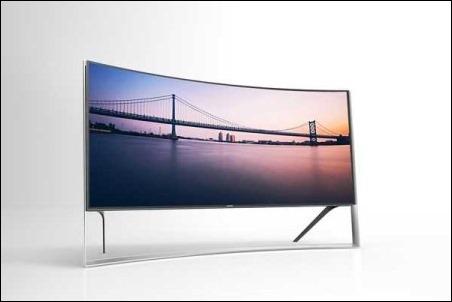 #IFA 2014: Samsung presenta el televisor curvo más grande del mundo