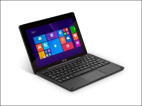 SPC Smartee Winbook: tableta y portátil Windows 8 en un mismo dispositivo