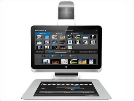 HP revela su nuevo PC all-in-one con pantalla táctil, un proyector y un escáner 3D