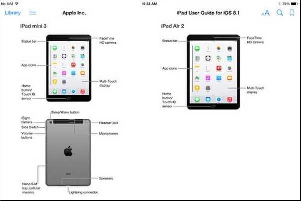 Apple filtra por error detalles de sus novedades: iPad Air 2 y iPad Mini 3