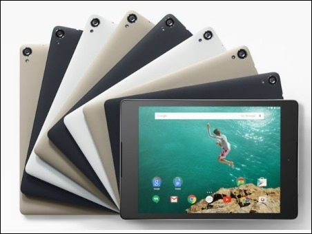 Nexus 9, el primer tablet con Android 5.0 Lollipop