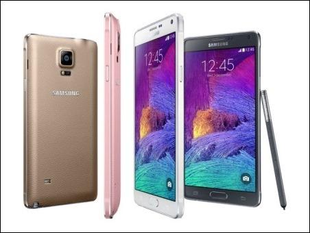 La pantalla de Samsung Galaxy Note 4, elegida la mejor del mercado por su precisión del color