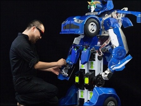En Japón presentan el primer Transformer real