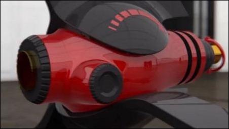 El auto de carreras del futuro: 390 km/h y motor a láser