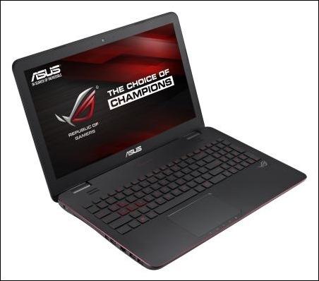 G551 y G771, los nuevos portátiles de ASUS Republic of Gamers