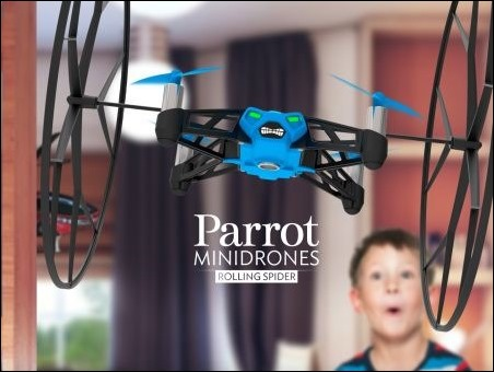 parrot- Rolling Spider
