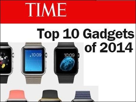 Time elige al Apple Watch como el mejor gadget de 2014