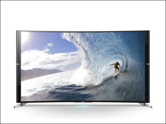 Televisor Sony Bravia S90,  la curva perfecta 4K