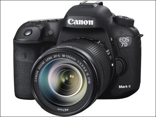 Canon EOS 7D Mark II, diseñada para la velocidad