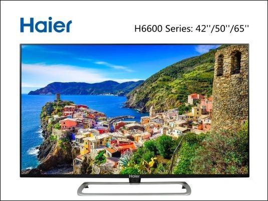 Haier H6600, TV 4K con marco ultraslim