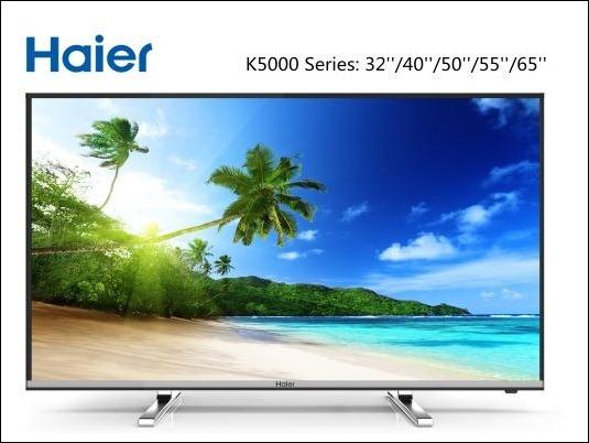 TV Haier Serie K5000: Elegante y chic con resolución FHD