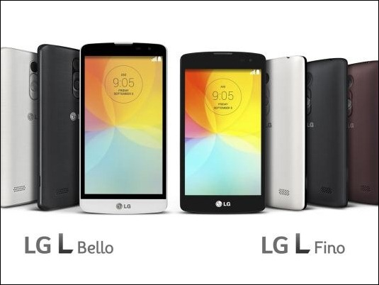 L Fino y L Bello, dos nuevos smartphones de gama media de LG