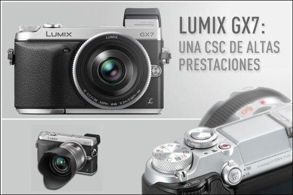 Lumix GX7: El regalo más retro para los fotógrafos más modernos
