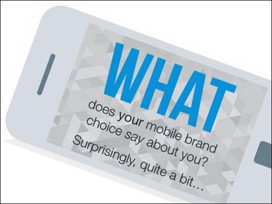 Lo qué dice la marca de tu móvil sobre ti