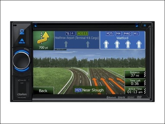 Clarion NX404E: la calidad de sonido para los trayectos del día a día