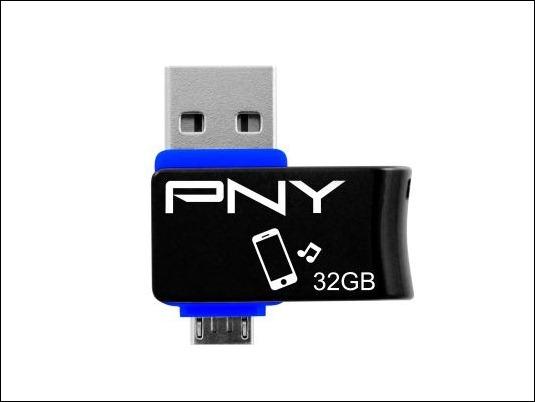 PNY flash Duo-Link On-The-Go, una práctica solución de almacenamiento portátil