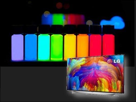 LG desarrolla TV 4K con puntos cuánticos