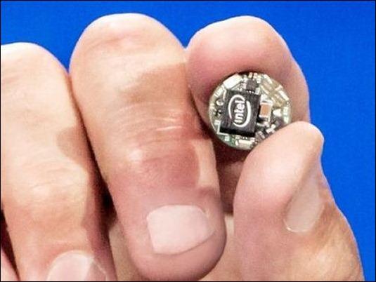 Intel presenta el chip más pequeño del mundo