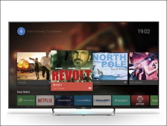 Android TV lleva el entretenimiento a los TV Sony 4K 2015