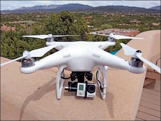 Fabricante de drones aplicará software que impedirá volar en ciertas zonas