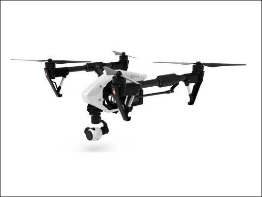 Inspire 1, el primer drone con cámara 4K