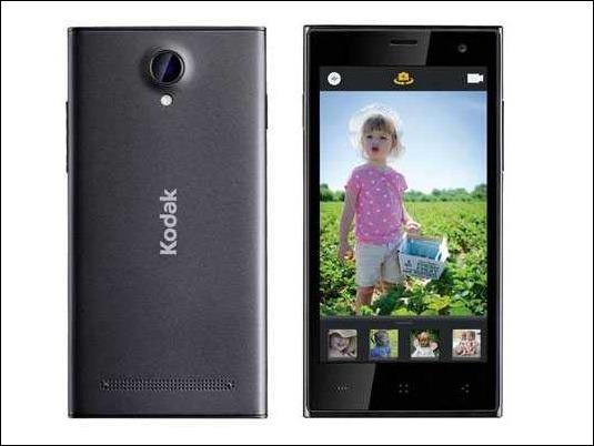 #CES2015: Kodak presenta su primer teléfono inteligente enfocado a la fotografía