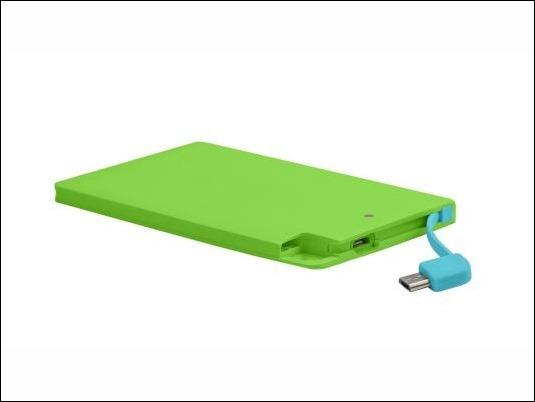 powerBankSlim-2600-green-abierto