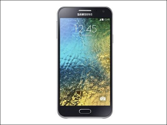 """#CES2015: Galaxy E7, el """"plus"""" de Samsung"""