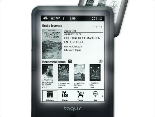 Nuevos eReaders Tagus más ligeros y ágiles