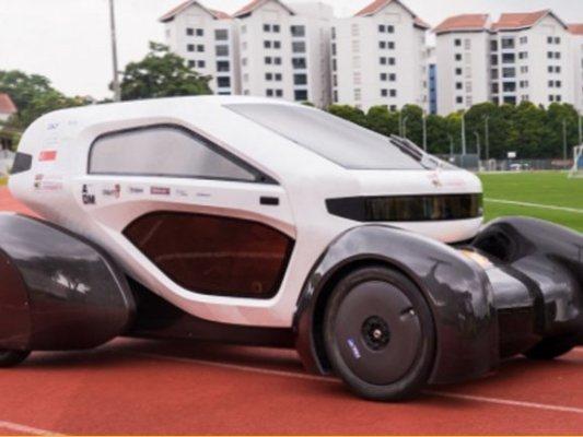 Imprimen un coche eléctrico