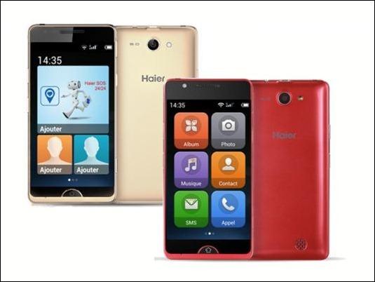 #MWC15: Haier Smartphone E-ZY A6 y A8, ¡para todas las edades!