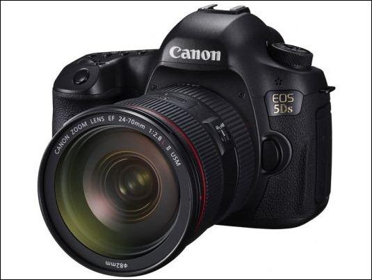 Canon revoluciona la resolución con sus cámaras EOS 5DS y EOS 5DS R