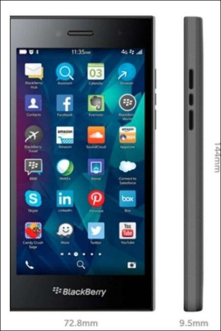 "BlackBerry anuncia ""Leap"", un nuevo smartphone con pantalla 'touchscreen'"