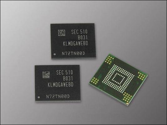 Samsung ofrecerá hasta 128 GB de almacenamiento en su gama media