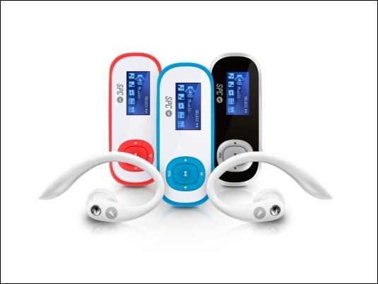 Clip Shuffle y Clip Pedometer, los dos nuevos MP3 deportivos de SPC