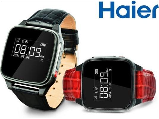 Haier_montres connectées pour seniors