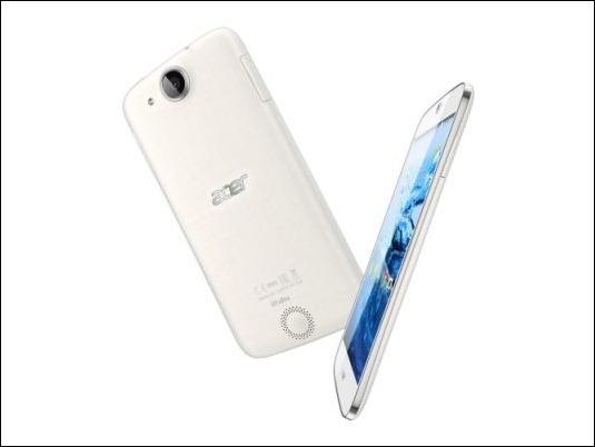 Acer Liquid Jade Z: smartphone elegante,  compacto, 4G y procesador de 64bits